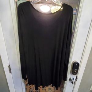 torrid Tops - Torrid just love super soft black tunic tied shirt
